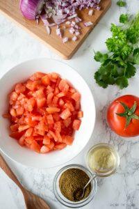Ensalada de Tomate y Cebolla