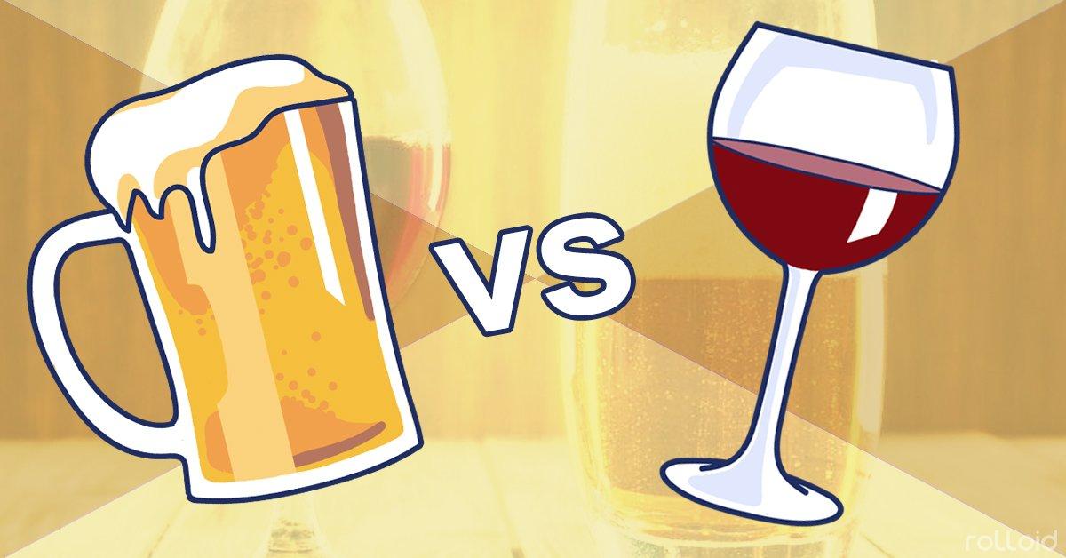 Cerveza o Vino, ¿qué engorda más?